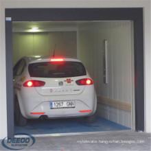 Goods Modern Transport Lift Parking Motorcycle Garage Auto Car Elevator