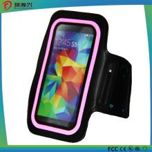Brazalete para Samsung, iPhone y HTC (negro + rosa)