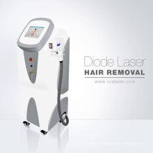 La meilleure machine d'enlèvement de cheveux de la diode laser Elight + 808