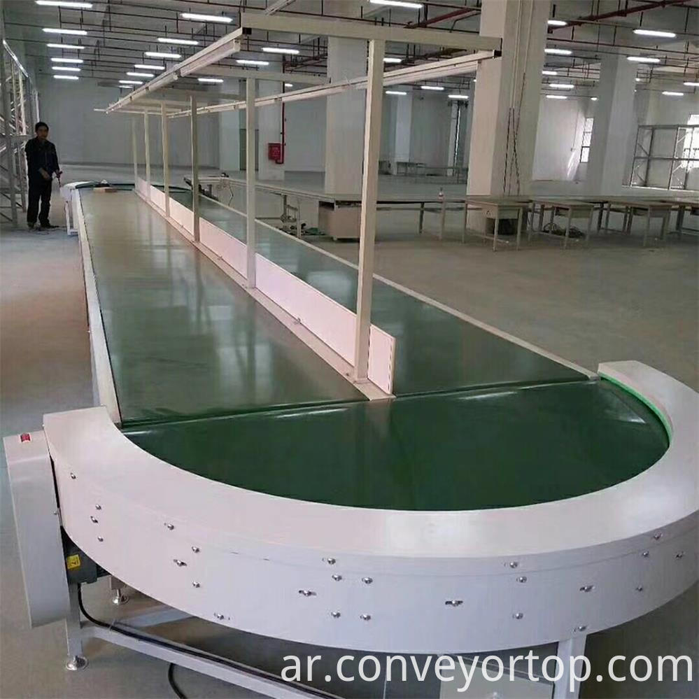 Curve Belt Conveyor