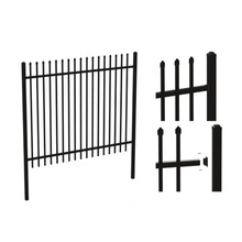 Hot Sale!! Nice Price!!! Customized Zinc Steel Fence Panels Wrought Iron Fence Security