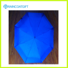 2015 Mini Advertising 3 Folding Umbrella for Sunny or Rainy