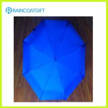 Mini paraguas plegable 2015 de la publicidad 3 para soleado o lluvioso
