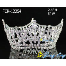 Wholesale Rhinestone Full Round Crowns