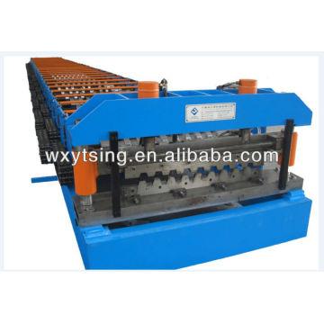10-20m / min, Panasonic Metal Deck Roll Forming Machine, High Strength with Big Wavelength