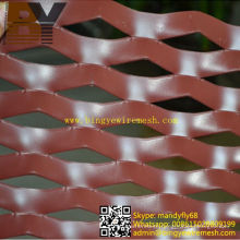 Paint Aluminum Expanded Decorative Metal Panels