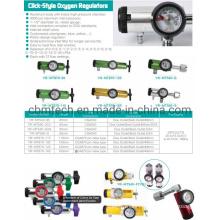 Click-Style Oxygen Regulators
