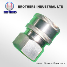 1/4 3/8 1/2 Stainless Steel High Pressure Washer Quick Connecting Coupling Coupler Fittings