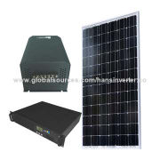 3kW Movable Portable Plug N Play Solar Stand-alone Off Grid Power System