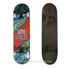хороший бренд ветер уличные дешевые полный скейтборд для распространения