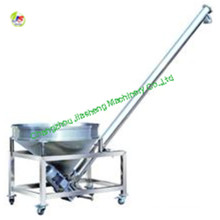 LS20 spiral hopper screw conveyor with vibration sieve