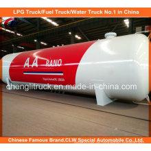 Asme 50m3 LPG Speicher Tank 80m3 LPG Gas Speicher Tank für Nigeria