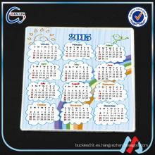 Calendario de madera del sedex 4p imán