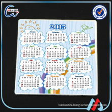 sedex 4p wooden calendar fridge magnet