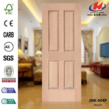 Russia Natural Beech Veneer Mould Door Panel