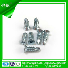 8#*13 Countersunk Head Self Tapping Screw with Drill Pointed