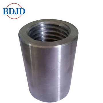 Splicing Construction Steel Rebar Coupler Coupler Thread Thread Rebar
