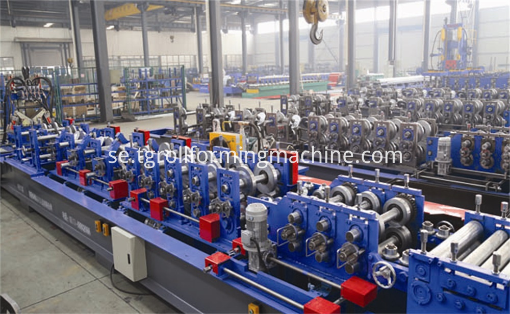 Automatic C Channel Roll Forming Machine