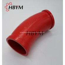 Coude de moulage de pièces de rechange pour pompes à béton Sany A820206020339