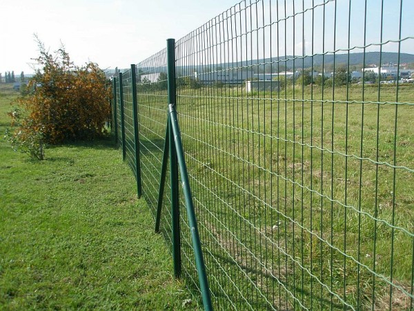 Green Powder Coated Euro Fence