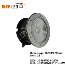 RGB DMX COB Led Underground Lamp Light