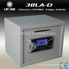Venta de caja fuerte con dinero para la venta con pantalla LCD