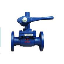 flange grey iron ductile iron ball valve pn16