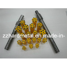 11 Degree Tapered Drill Bit DTH