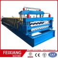 Double layer color steel sheet roll forming machine