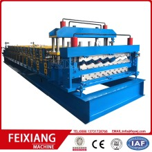 Roof and wall double layer forming machine