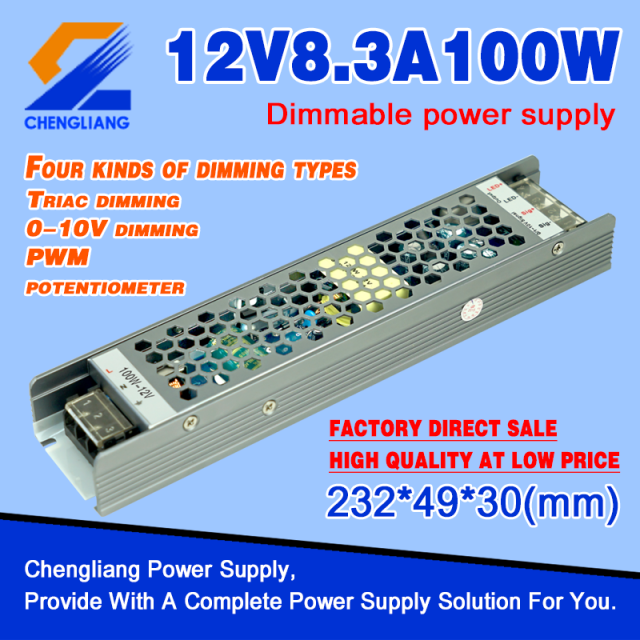 Alimentation Triac Dimmable 12V 100W