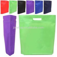 2015 único troquelado bolso no tejido ecológico por máquina