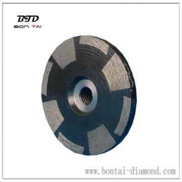 "4 inch 5/8""-11 adapter edge granite grinding wheel"