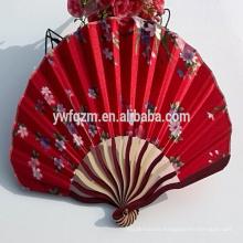 abanico de mano chino de bambú para niños