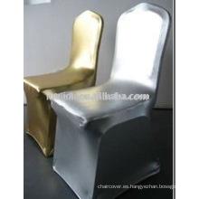 Cubiertas de silla spandex bronceado