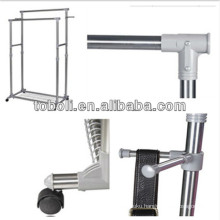Aluminum Parallel Bars Drying Rack for Clothing Sale Stand Space Saving Clothes Hangers
