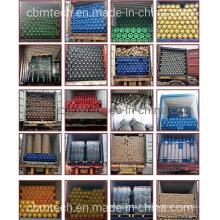 Refillable Oxygen/Nitrogen/Argon/Acetylene/CO2 Steel Gas Cylinders