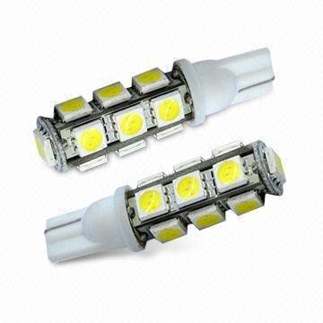 Lâmpada LED para carro T10 5050 13PCS