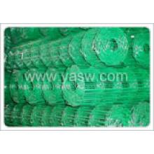 ПВХ покрытием завязанные проволочной сетки полевой забор (anjia-517)
