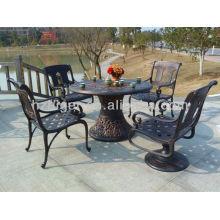 muebles de jardín de mesa de ocio al aire libre