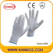 Anti-Static Nylon gestrickte PU beschichtete Arbeitsschutz-Handschuhe (54002)