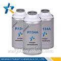 99,99% Pureté R134a Réfrigérant 30 lb