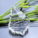 50mm 500pcs Clear Crystal Maple Leaf Pendant Glass Chandelier Parts