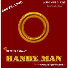 A4073-1245 Alpinismo ao ar livre Escalada para a correia de ancoragem Alumínio O ringue médio