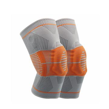 Joelheira de voleibol de nylon e spandex de alta qualidade