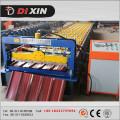 Китай Производитель Dixin Цвет / оцинкованная сталь Кровельная листовая рулонная машина