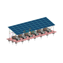 Solar Mounting System - Parking Lot
