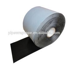 Cinta adhesiva de polietileno adhesiva a base de caucho de betún para tubería subterránea