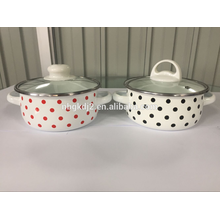 Reasonable price top quality factory enamelware products /enamel pot