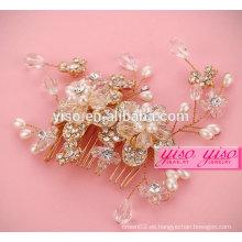 Accesorios para el cabello princesa cumpleaños accesorios para el pelo de la boda peines